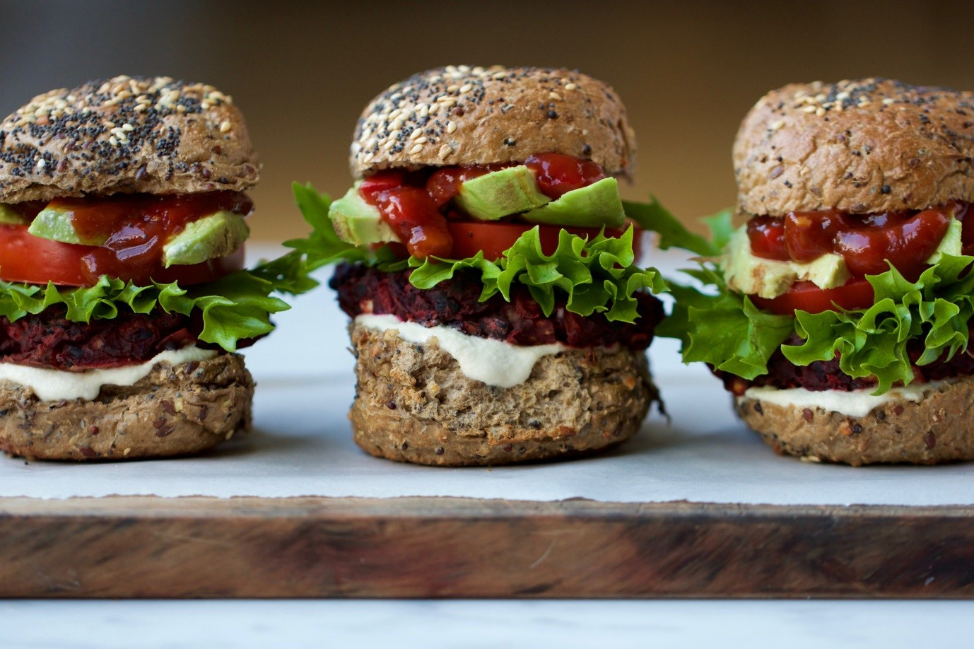 Buffy-Ellen Gill's meatless burger favourite
