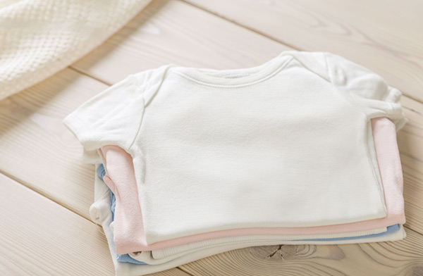 Caring for baby clothes in the laundry