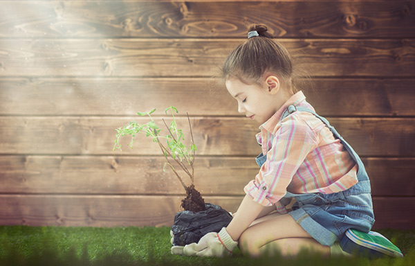 How to help kids go green