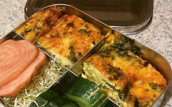Michelle Yandle's lunchbox frittatas