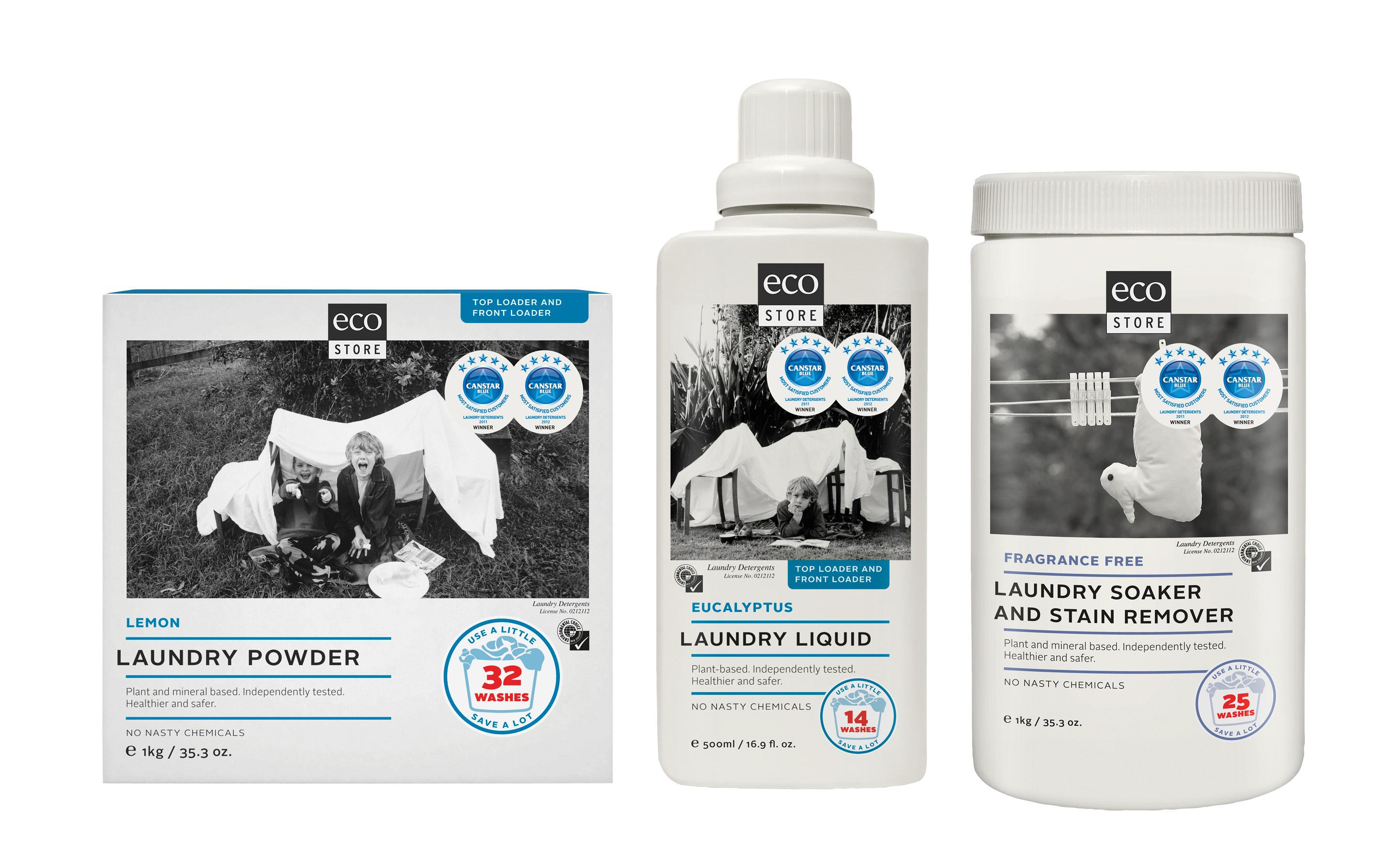 Survey shows kiwis love ecostore laundry detergents