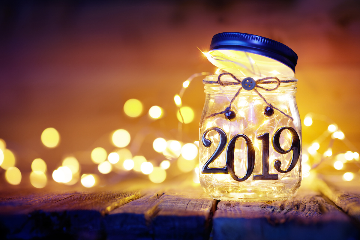 New year, fresh starts, infinite possibilities