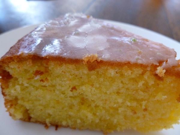 Luscious orange cake recipe