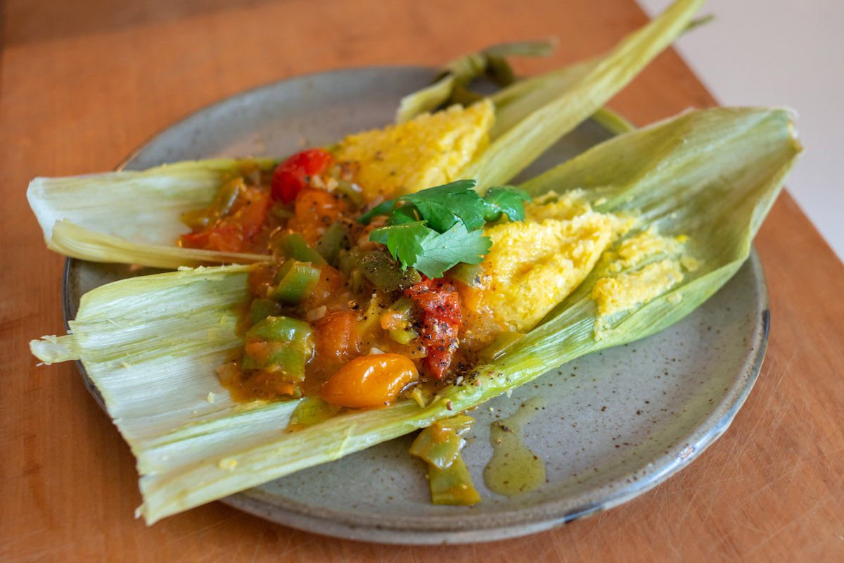Fresh Corn Tamales