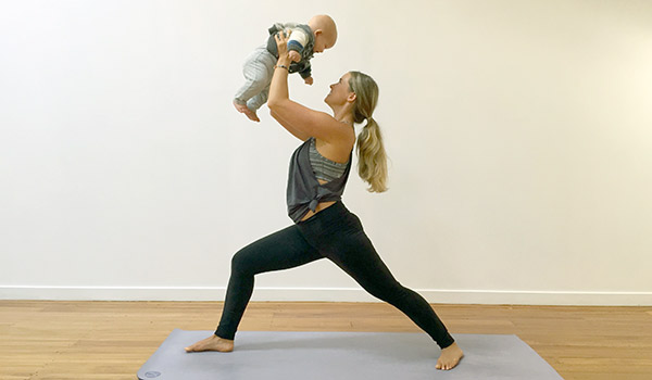 Yoga for busy mums
