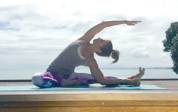 Yoga poses for sports performance
