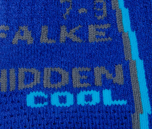 Hidden cool socks
