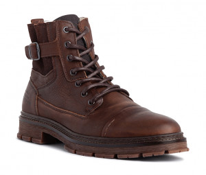 Tous lace up boot