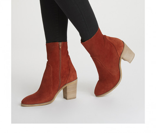 Cleona leather ankle boot