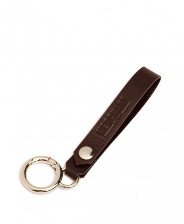 Crescent key ring