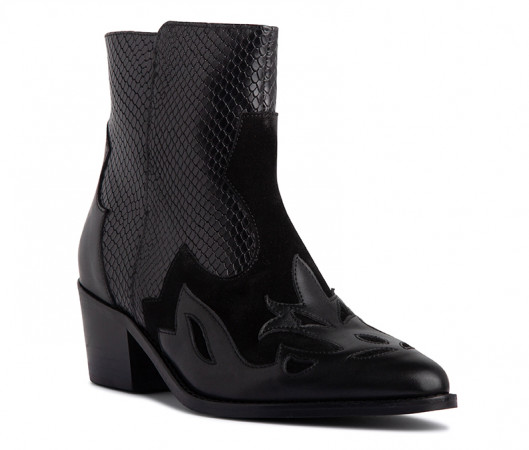 Curie western boot