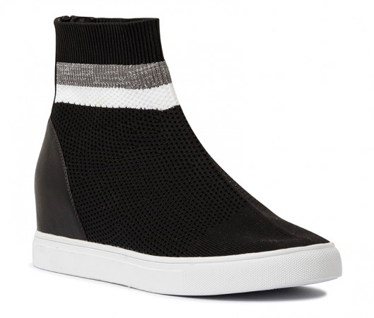 Freya stretch wedge sneaker