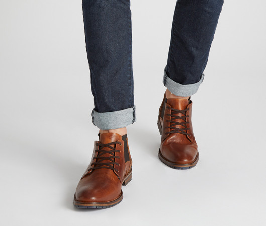 Gustavo lace up boot