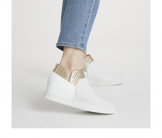 Lacey wedge sneaker