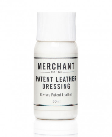 Patent leather dressing