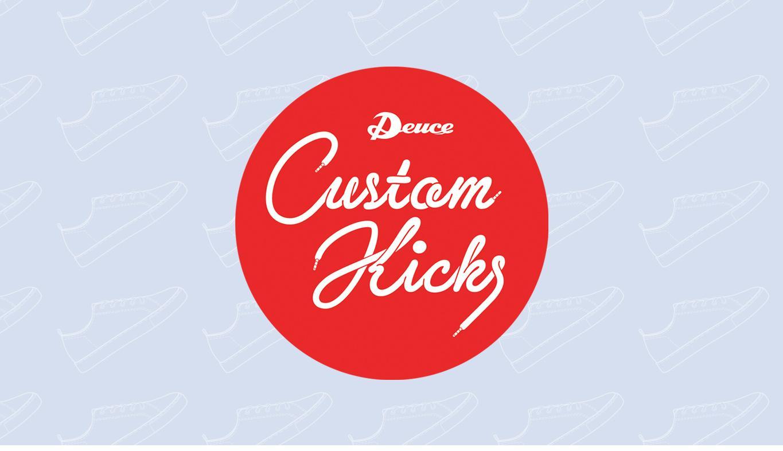 Deuce Custom Kicks Competition