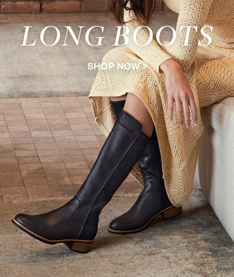 Explore Women's Long Knee High Boots
