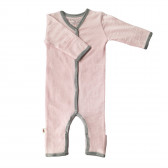 Merino Pyjama Sleep Suit - Pink