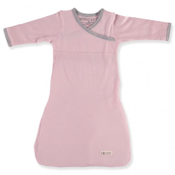 Merino Gown - Pink