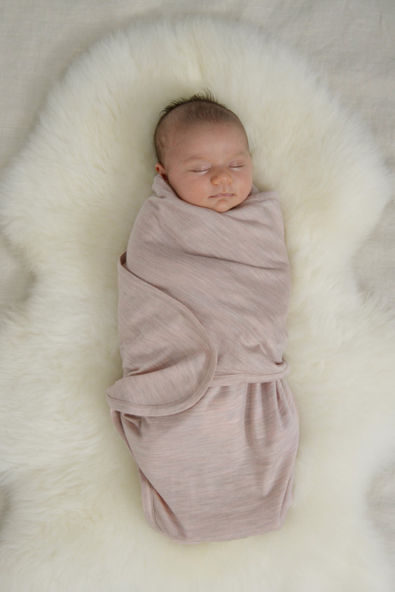 Cocooi Babywrap Set - Misty Rose