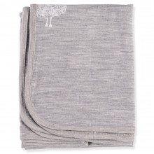Merino Blanket Swaddle - Grey
