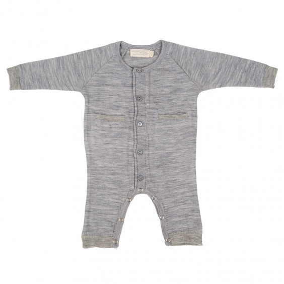 Merino All-in-one - Grey