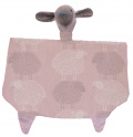 Snuggle Toys - Pink Sheep Print