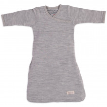 Merino Gown - Grey