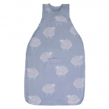 Go Go Bag - Standard - SHEEP Print - Sky Blue