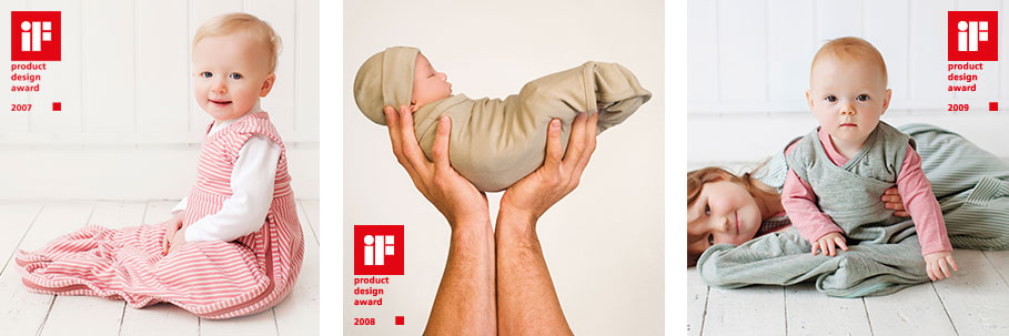 iF Design Awards - Merino Kids Go Go Bag and Cocooi Babywrap