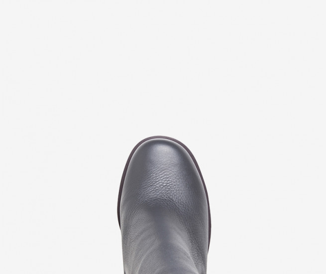 Burn out ankle boot