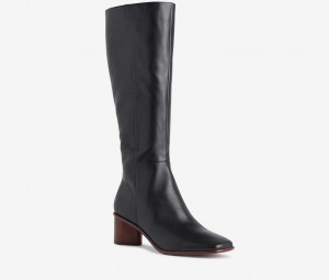 Ulrika knee high leather boot