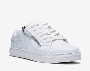 Major leather sneaker