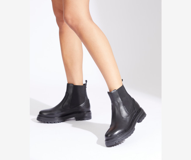 Dario leather ankle boot