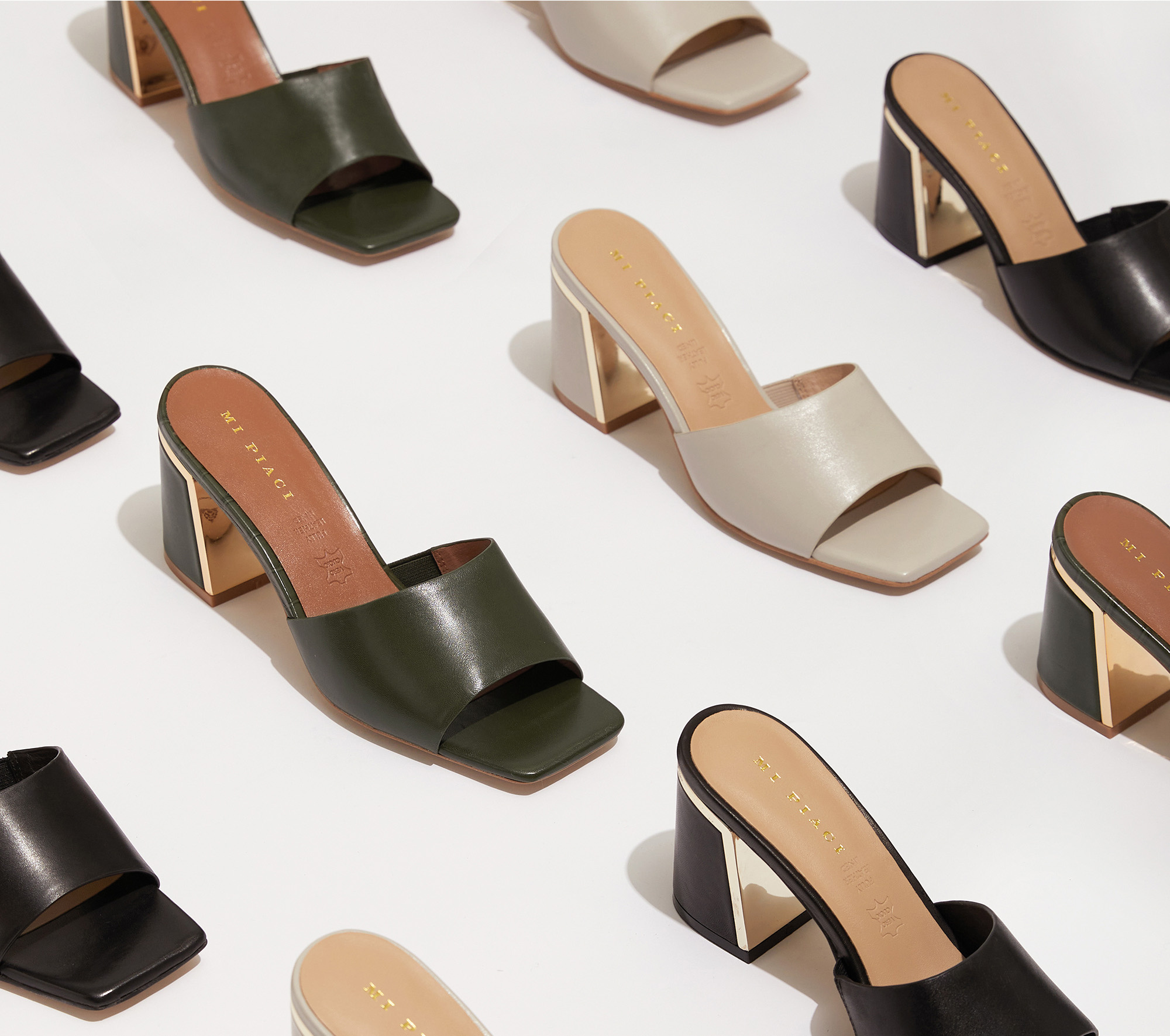 Simara Mule - The Icons Collection