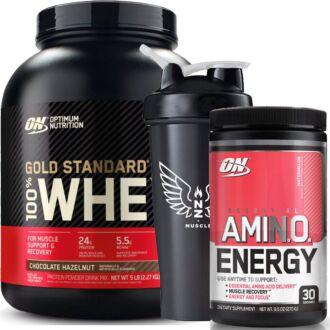 OPTIMUM NUTRITION 100% WHEY + AMINO ENERGY
