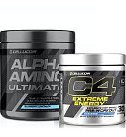 Cellucor C4 Extreme + Alpha Amino Ultimate
