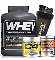CELLUCOR WHEY / C4 STACK