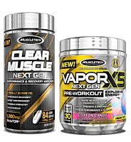 Muscletech Vapor X5 + Clear Muscle Next Gen