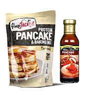 FlapJacked Protein Pancake Mix + Waldens Syrup Stack
