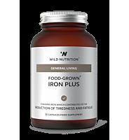 Food-Grown Iron Plus 30 Capsules