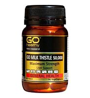 GO Healthy Milk Thistle 30 Capsules