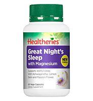 Healtheries Great Night Sleep + Magnesium