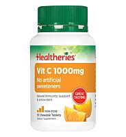Healtheries Vit C 1000mg Chewable