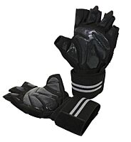 Lifting Glove with Wrist Wrap