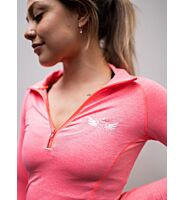 NZ Muscle Womens Long Sleeve Zip Top