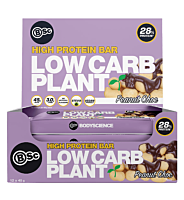 BSC High Protein Low Carb Plant Bar - 6 Bars