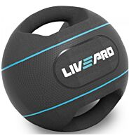 LivePro Double Grip Medicine Ball
