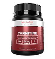 Musashi Carnitine 60 Capsules