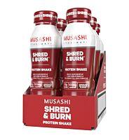 Musashi Shred & Burn RTD - 6 pack